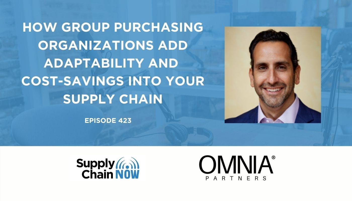OMNIA Partners   Supply Chain Now Podcast featuring Ara Arslanian